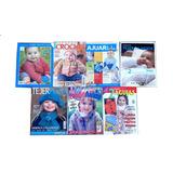 N° 6 Lote 7 Revistas Tejidos Crochet Bebes Y Niños