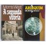 Morris West 2 Livros Arlequim E A Segunda Vitória Capa Dura