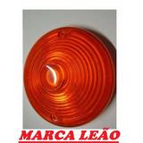 Lente Da Lanterna Pisca Caminhão Ford F600 F700 D70 ( O Par)