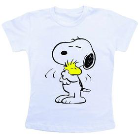 Camiseta Desenho Snoopy - Camisetas e Blusas no Mercado Livre Brasil 9634c2d43d1
