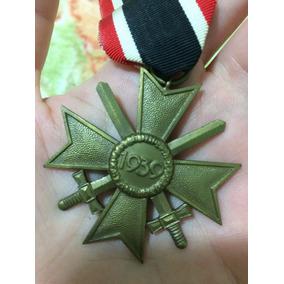 Cruz De Mérito De Guerra 2ª Classe Alemanha - Frete Grátis