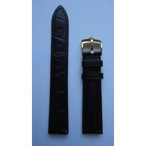 Pulseira Rolex Daytona Couro Submariner 20mm Preto Dourada