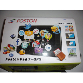 Tablet Foston 796 Android Wifi 3g Gps 7 Polegadas Tv 2 Chips