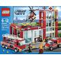 Lego 60004 Estación De Bomberos - 752 Fichas (original)