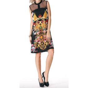 Vestido Semiformal/formal Estampado Envíogratis Moda Fino