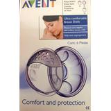 Conchas Recolectoras De Leche Avent Protectoras Pack X2
