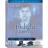 Twilight Forever The Complete Saga Crepusculo Blu-ray + Uv