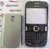 Carcaça Nokia Asha 302 N302 Grafite Chassi + Teclado
