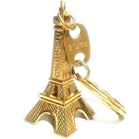 Kit 48 Chaveiros Torre Eiffel Paris França Metal