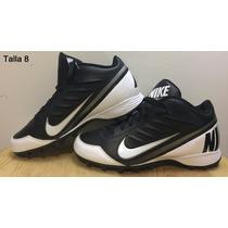 Tachos Taquetes Spikes Cleats Futbol Americano Talla 8 Nike