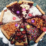 Brownies Amor Y Amistad En Forma De Pizzas Y Corazones