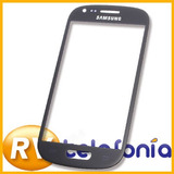 Vidrio Samsung Galaxy S3 Mini I8190 Azul Original Glass