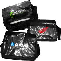 Bolso Fletero Honda / Yamaha / Monster Lapacho En Fas Motos