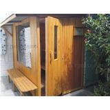 Box Baño De Vapor O Sauna Turco Madera Externo Spa Exterior