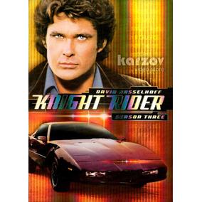 Knight Rider El Auto Increible Temporada 3 Importada Dvd