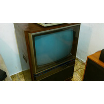 Tv Mitsubishi Colorida Vintage Tc 2602 Entrada De Audio 3d
