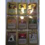 Cartas Pokemon De Base Set A Neo Todo Junto O Por Separado
