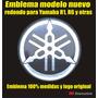 Emblema Redondo Tanque Moto Yamaha R1 Y R6 Modelo Nuevo
