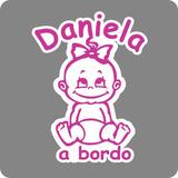 Sticker Auto Familia Adhesivo Bebe A Bordo