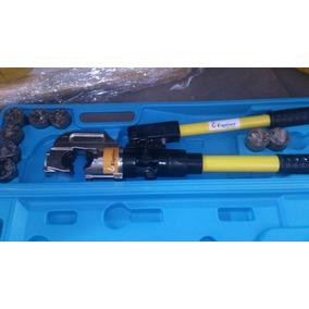 Pinzas Ponchadora Hidraulica Para Cable Calibre 6 A 750