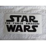 Calcomania Star Wars The Force Awakens El Despertar Fuerza