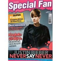 Revista Pôster Justin Bieber = Never Say Never 52x81cm Novo!