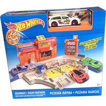 Pista Hot Wheels : Pizzeria Rapida De Mattel - Minijuegos