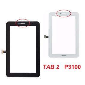 Tela Vidro Touch Tablet P3100 Samsung Galaxy Tab 2 Branco