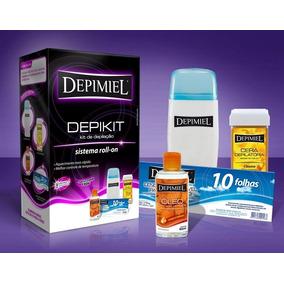 Aparelho Depilação Aquecedor + Kit Depilação Depimiel