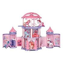 Juguete Mi Pequeño Pony Crystal Castillo Del Arco Iris