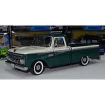 1:18 Ford F100 Custom Cab Pick Up 1965 Verde Bco Sun Star