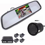 Sensor Estacionamiento Con Espejo Retrovisor+pantalla+camara