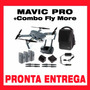 Dji Mavic Pro + Kit Combo Fly More