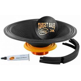 Reparo Auto Falante Subwoofer Target Bass 15 Pol 3.0k 1500w