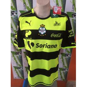 Jersey Santos Laguna D Torreon Puma Version Profesional 2017