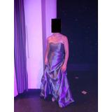 Vestido De Fiesta Madrina 15 Años Noche Casamiento Talle M