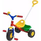 Triciclo Rondi Little Trike Barral Arrastre Metalico Lomas