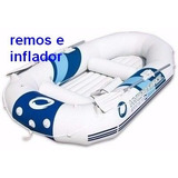 Bote Gomon Inflable Bestway Marine Pro C/ Remos E Inflador