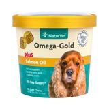Vitamina Pelo Salmón Omega-gold Plus Para Perros Masticable