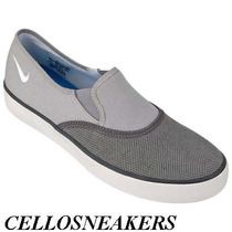 Tênis Nike 38 Spring Slip-on Cinza Frete Gratis