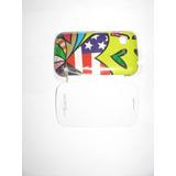 Flip Cover Galaxy Pocket 5300 Com Desenho Frete Grátis
