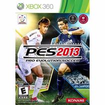 Pes 2013 Pro Evolution Soccer Mídia Física Original Xbox 360
