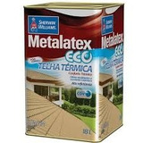 Tinta Térmica Metalatex Eco Telha Branco Ou Cores Lata 18 Lt