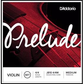 Cordas De Violino Prelude Daddario Média J810.frete Gratis