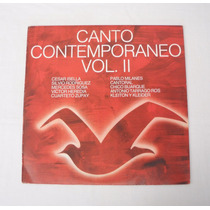 Canto Contemporáneo Vol Ii Pablo Milanés Mercedes Sosa Lp