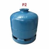 Botijão De Gás P2 Pequeno Azul - Novo - 41831 C