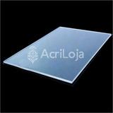 Chapa Placa De Acrílico Cristal 100cm X 50cm Esp. 2mm