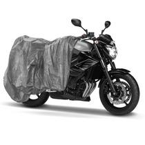 Capa Cobrir Moto Escapamento Impermeavel G
