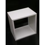Cubo Repisa Apilable Color En Melamina 30x30x20cm Muebleds