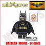 Filme Lego Batman Movie Preto Minifigure Pronta Entrega